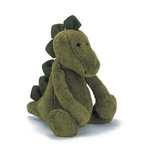 "Jellycat London Bashful Dino 12"""
